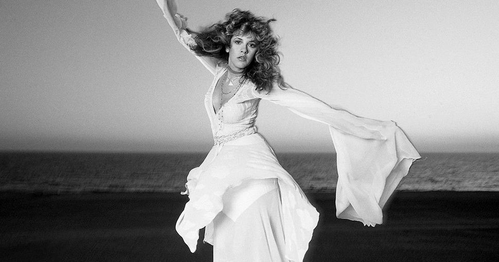 Stevie Nicks on Venice Beach