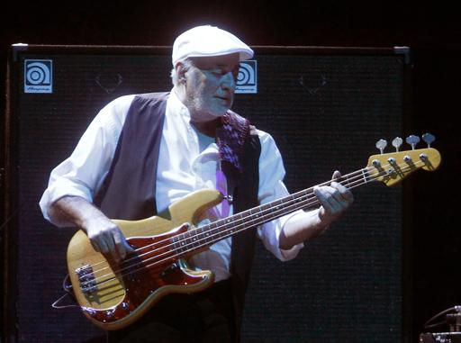 John McVie is reportedly doing well after cancer treatment. McVie's undisclosed cancer was reportedly caught early. (AP)