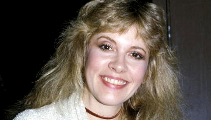 Stevie Nicks smiling
