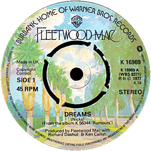 Fleetwood Mac, Dreams, single