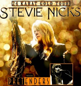 Stevie Nicks, 24 Karat Gold Tour, banner