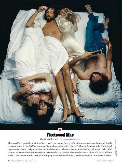 Fleetwood Mac, Rolling Stone, Annie Leibovitz, 1977