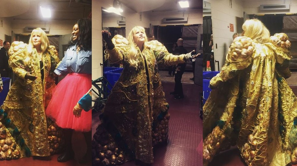 Stevie Nicks dons costume for Metropolitan Opera Akhnaten